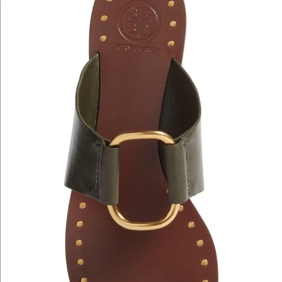 391e0cc629b3 Tory Burch Brannan studded sandal. M 5bf045a58ad2f907759772d0